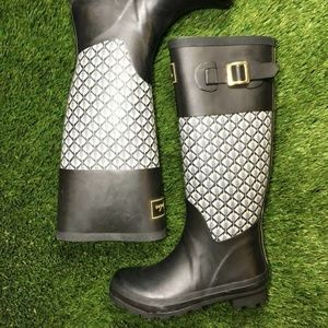Joules Womens Rainboots Size 5 Patterned